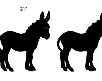 340x270 Metal Donkey Etsy