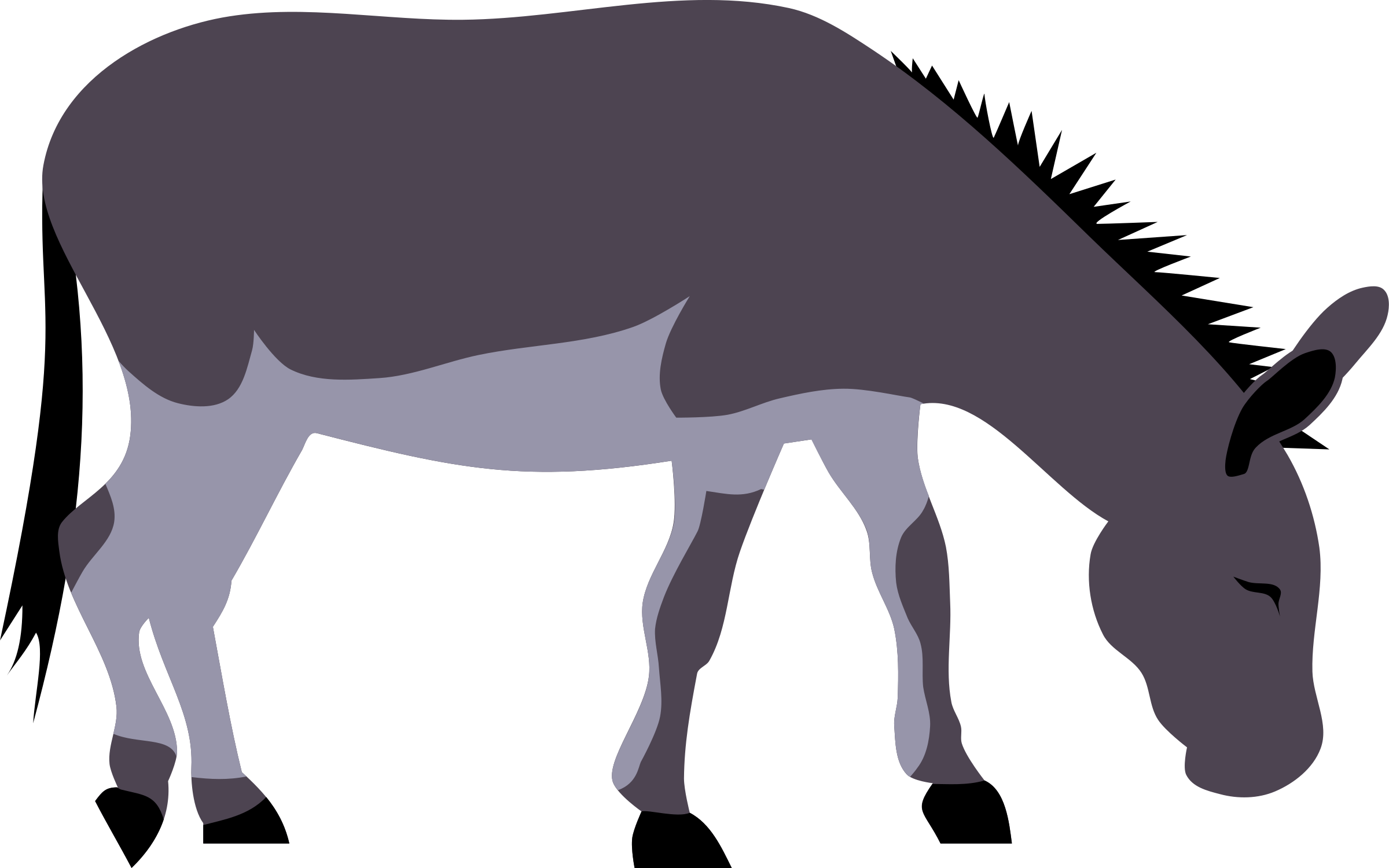 donkey silhouette clip art at getdrawings com free for personal rh getdrawings com clip art donkey and elephant clipart donkey