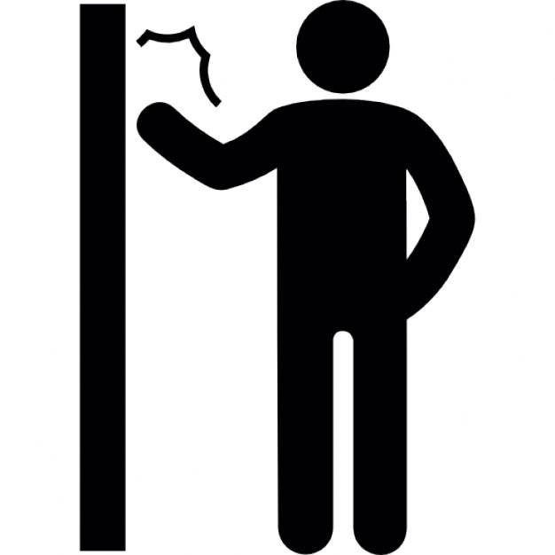 626x626 Man Knocking A Door Icons Free Download