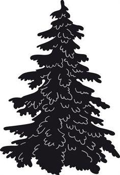 236x343 Tree Silhouettes Clip Art