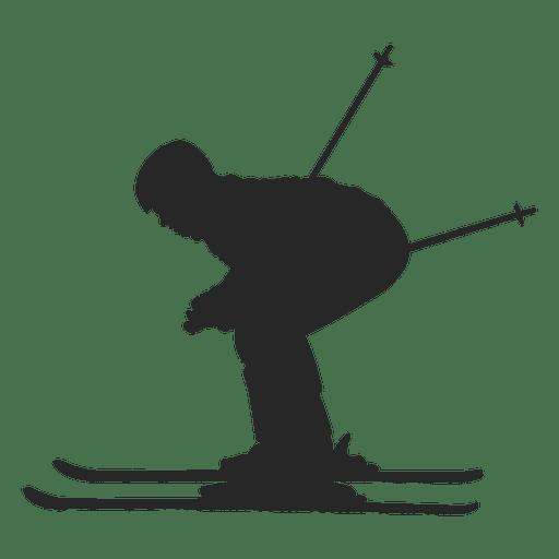 512x512 Skiing Silhouette 1