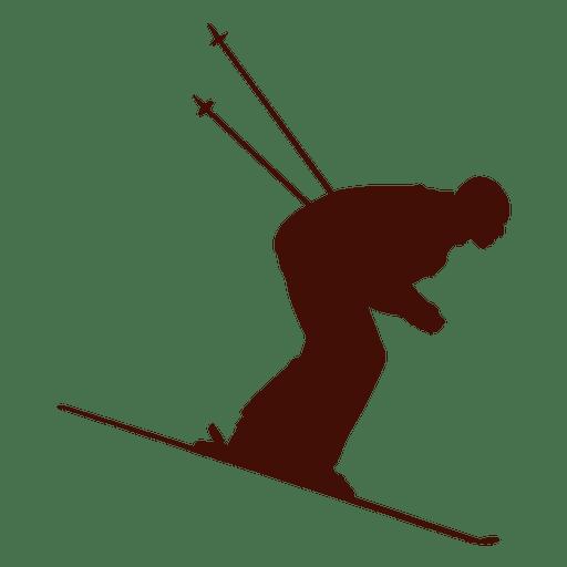 512x512 Speed Skiing Downhill