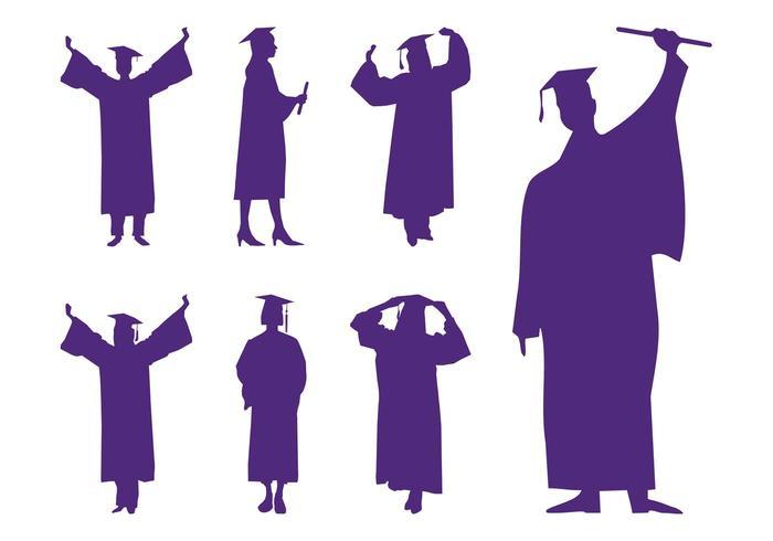 700x490 Graduation Silhouettes