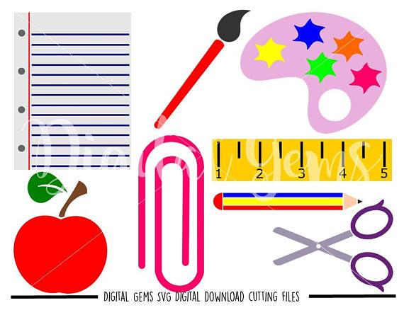 570x438 School Designs Svg Dxf Eps Png Files. Digital Download