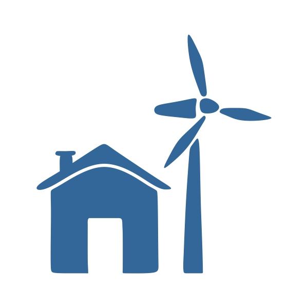 600x600 Wind Mill Cuttable Design Cut File. Vector, Clipart, Digital