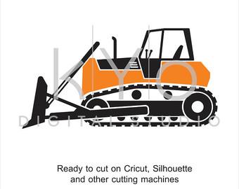 340x270 Bulldozer Clipart Etsy