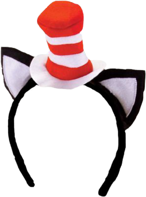 296x400 Cat In The Hat Headband Dr Seuss Popcultcha Elope