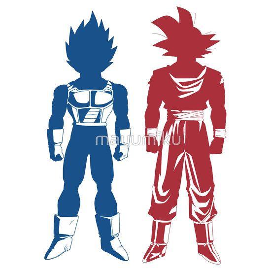 550x550 Goku And Vegeta, Dragon Ball Z
