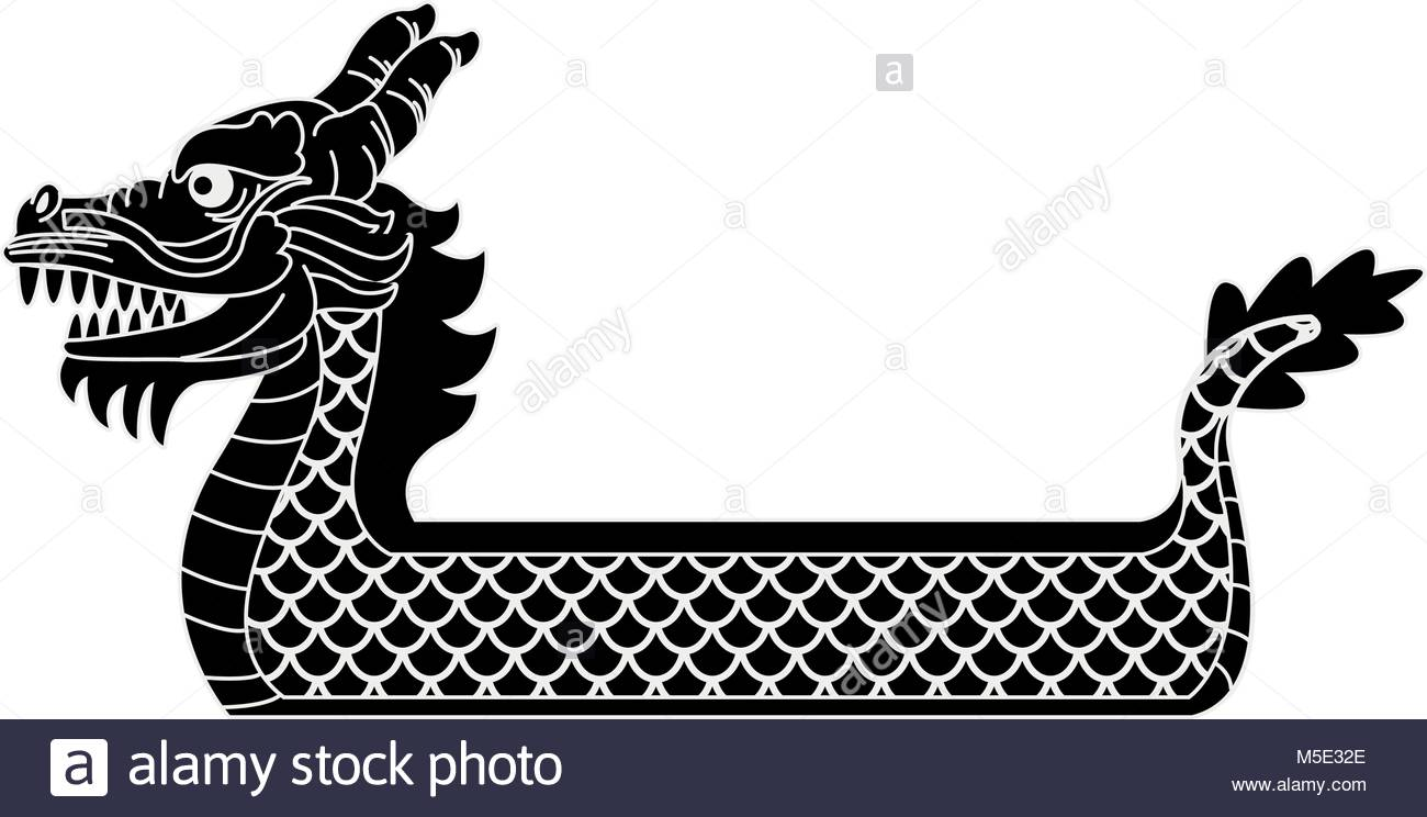 1300x744 Dragon Boat Symbol Stock Vector Art Amp Illustration, Vector Image