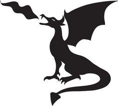 236x213 Dragon Head Silhouette Clipart