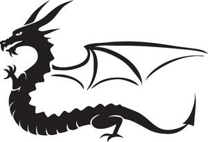 300x205 Free Free Dragon Clip Art Image 0071 0907 1819 1160 Animal Clipart