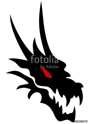 360x500 Dragon Head Stock Image And Royalty Free Vector Files On Fotolia
