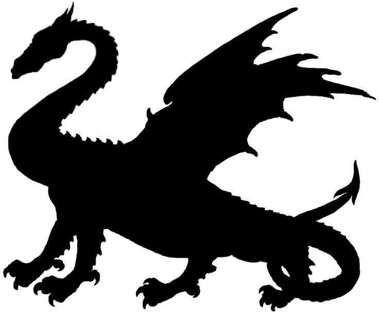 736x610 Game Of Thrones Dragon Silhouette Free Download Clip Art