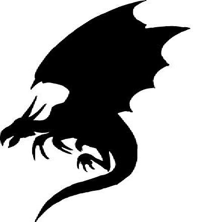 400x441 Silhouette Dragon Game Of Thrones Silhouette