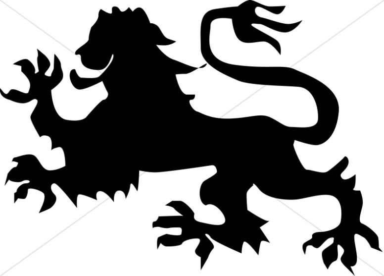 776x557 Black Dragon Silhouette Christian Symbols