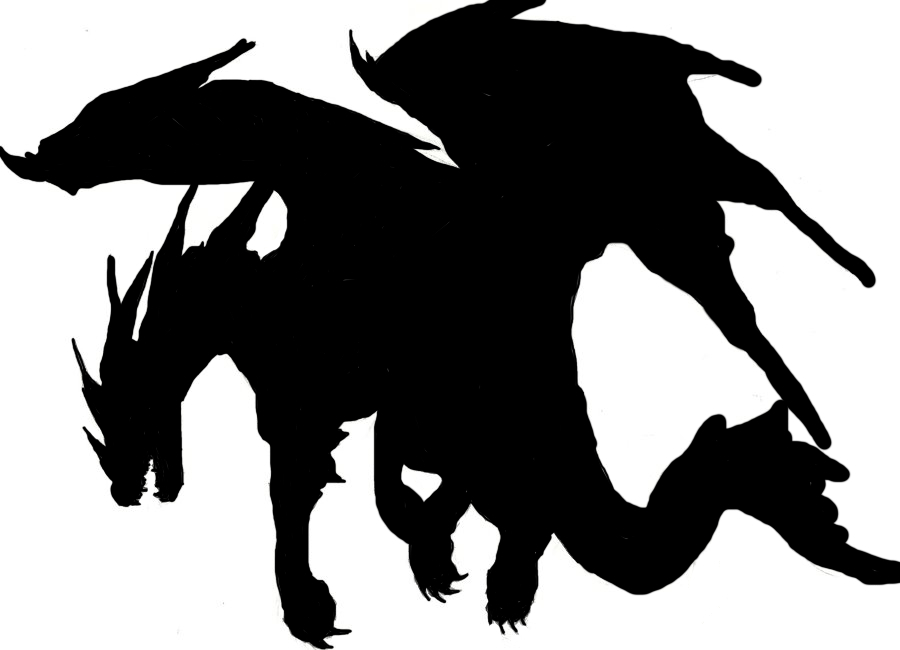 900x650 Dragon Silhouette Chinese Dragon Clipart Dragon Tattoo