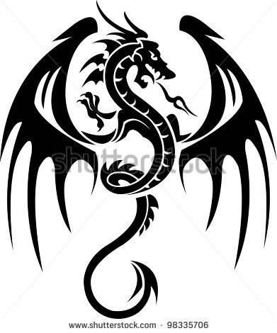 391x470 Dragon Art Free Vector For Free Download About (91) Free Vector