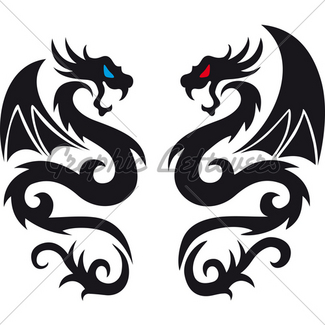 325x325 Full Dragon Collection Gl Stock Images
