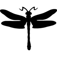 236x236 Dragonfly Silhouette Vector In Marshes Free Download Silhouette