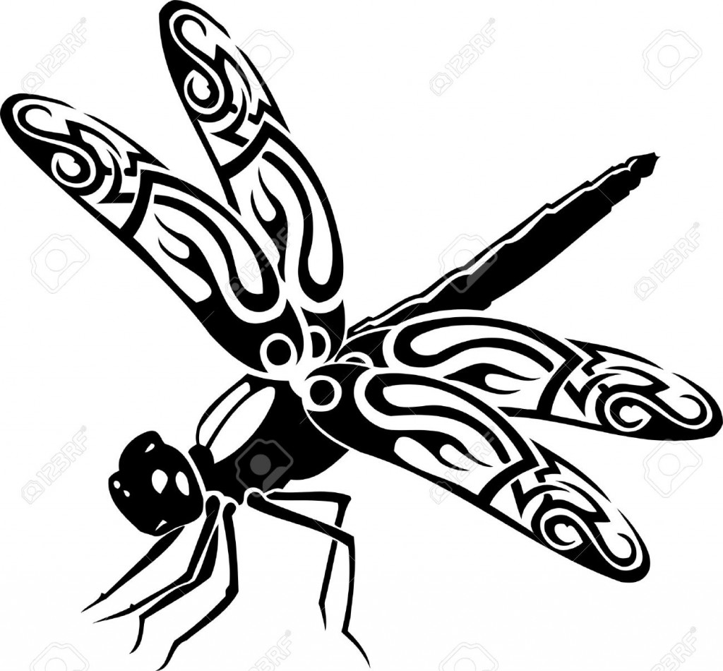 1024x950 Clip Art Dragonfly Silhouette Clip Art
