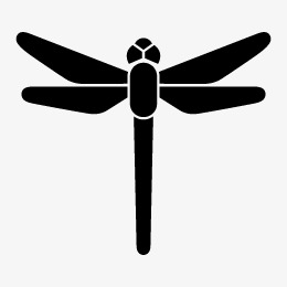 260x260 Dragonfly Silhouette, Dragonfly, Sketch, Dragonfly Vector Png