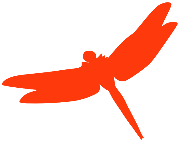 600x488 Dragonfly Silhouette Clip Art