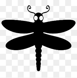260x261 Dragonfly Silhouette Png, Vectors, Psd, And Clipart For Free