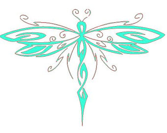 dragonfly silhouette clip art at getdrawings com free for personal