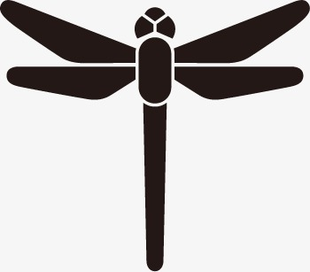 350x307 Dragonfly, Animal Silhouette Contour, Vector Animals Png