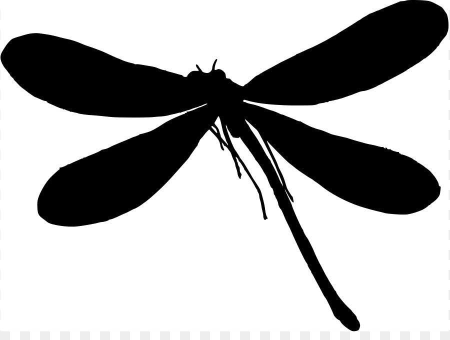 900x680 Silhouette Dragonfly Clip Art