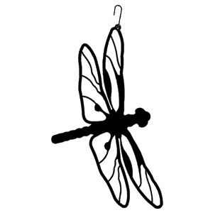 300x300 Dragonfly Silhouette Dragonflies, Silhouette And Wood Burning