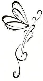 164x308 Resultado De Imagen Para Dragonfly Silhouette Tattoo Ideas