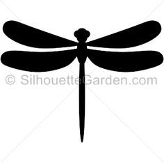 236x234 Whimsical Dragonfly Silhouette Art Ii By Madart By Madartdesigns
