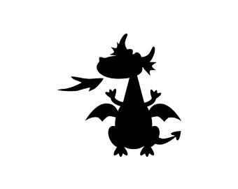 340x270 Dragons Silhouette Etsy Studio