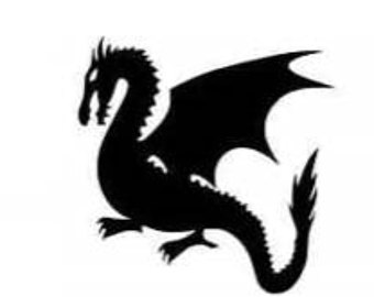 340x270 Photos Dragon Silhouette Cutouts,