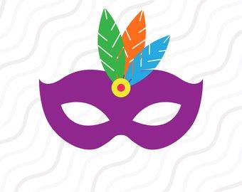 340x270 Masquerade Mask Svg Etsy