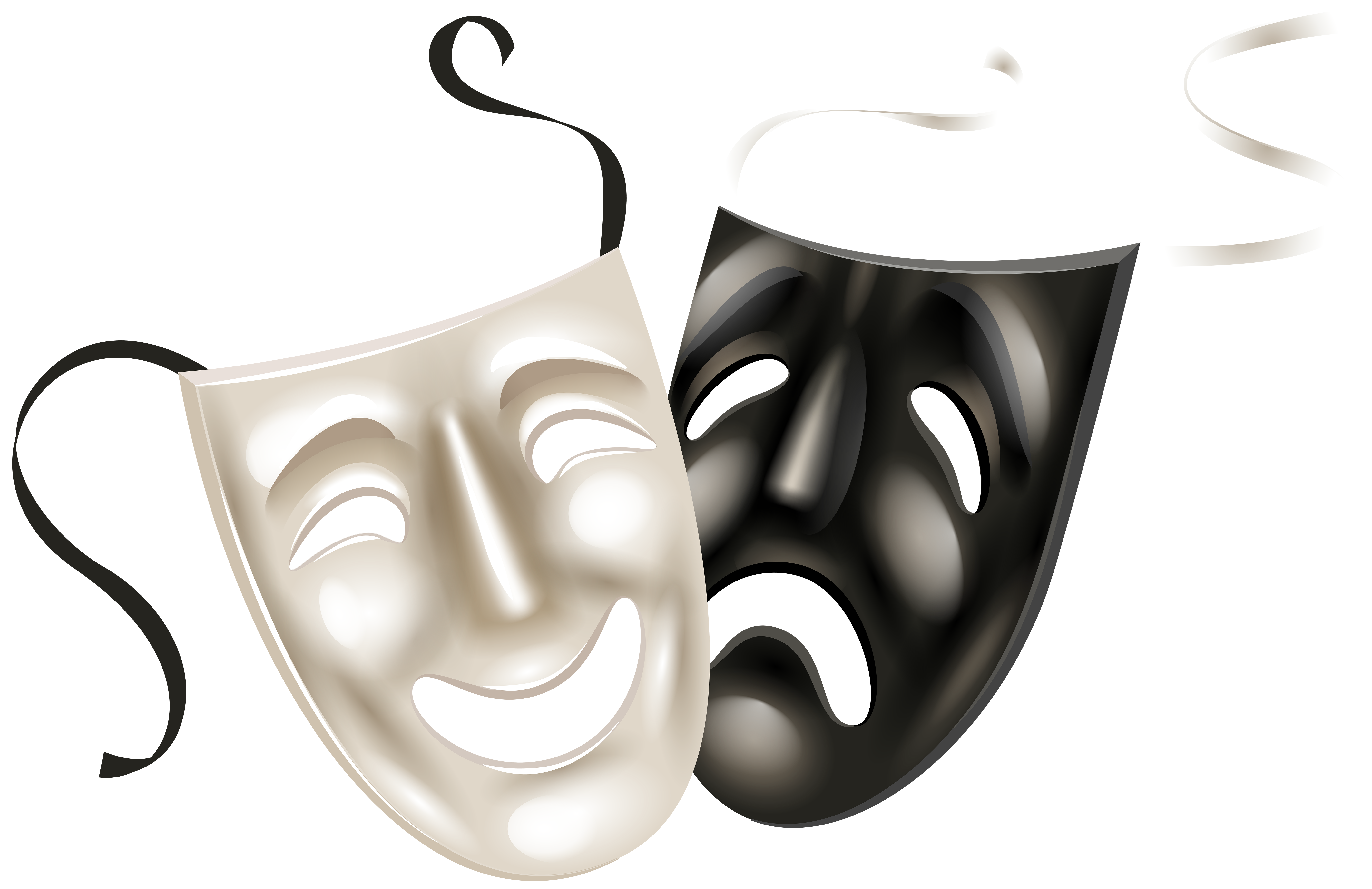 7000x4536 Theater Masks Png Clip Art Png Imageu200b Gallery Yopriceville