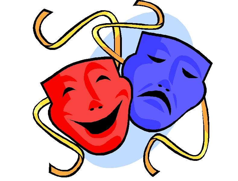 drama masks silhouette at getdrawings com