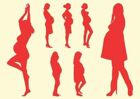 274x195 Of Pregnant Woman Art Clip Art, Free Vector Of Pregnant Woman Art
