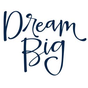 300x300 Dream Big Phrase Silhouette Design, Dream Big And Silhouettes