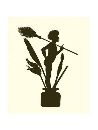338x450 A Midsummer Night's Dream, Silhouette Giclee Print By Paul Konewka