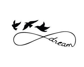 340x270 Infinity Dream Svg Dxf File Instant Download Silhouette Cameo