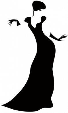 236x394 Dress Form Silhouette Clip Art Women Dress Silhouettes High