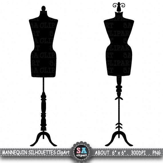 570x570 Mannequin Silhouette Clipart Mannequin Silhouette