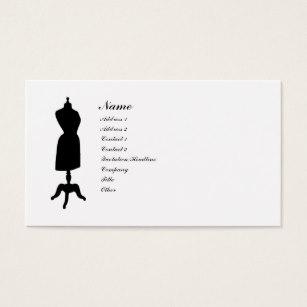 307x307 Vintage Dress Form Business Cards Amp Templates Zazzle