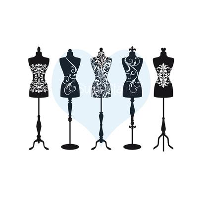 416x416 Dress Form Set