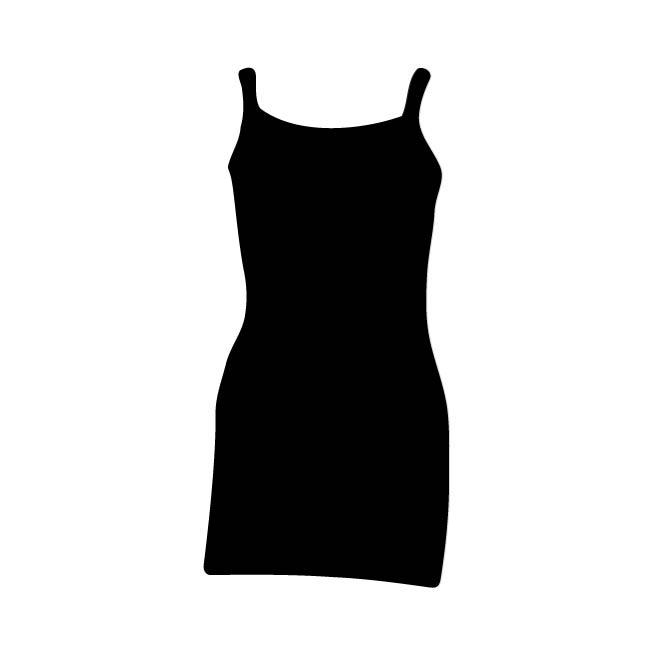 660x660 Silhouette Of A Dress