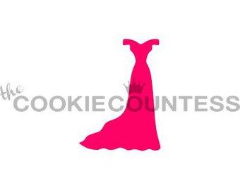340x270 Silhouette Dress Etsy