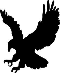 236x283 Silhouette Of Eagle