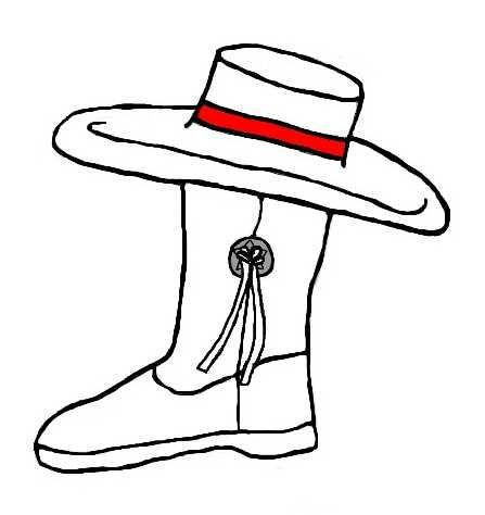 447x474 Drill Team Boot And Hat! Dance Dancing, Dance